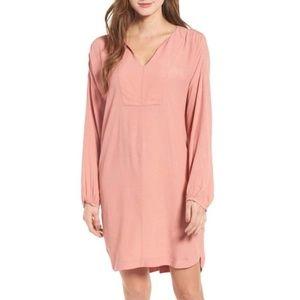 NWT Madewell Du Jour Tunic Dress Rose Pink Medium